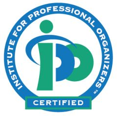 Institute for professional organizers certified seal